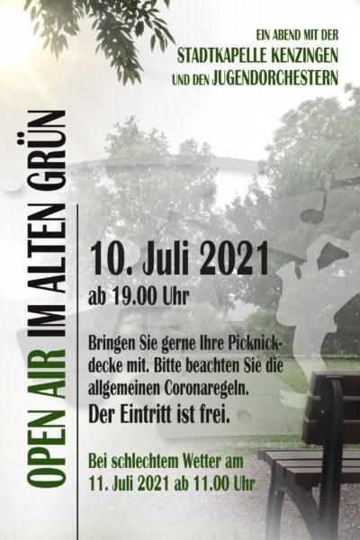 Plakat Open Air 2021